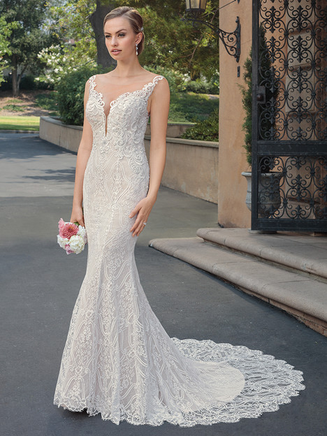 2329 gown from the 2018 Casablanca Bridal collection, as seen on dressfinder.ca