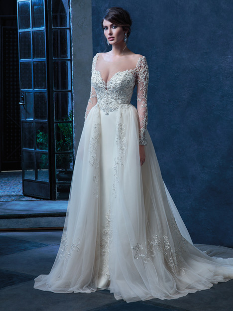 C128 (+ overskirt) Wedding                                          dress by Amare