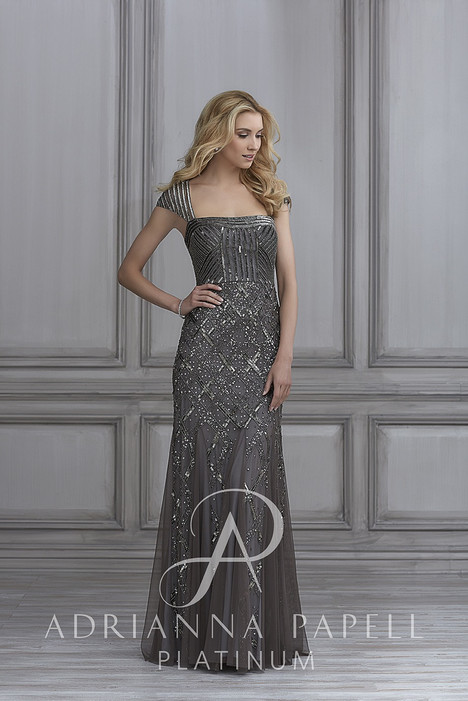 40103 Bridesmaids                                      dress by Adrianna Papell Platinum: Bridesmaids