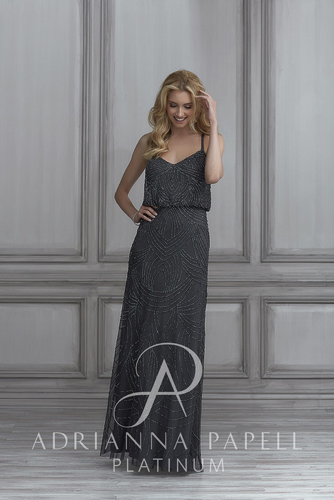 40105 Bridesmaids dress by Adrianna Papell Platinum: Bridesmaids