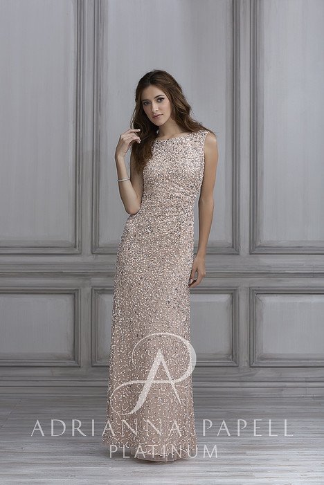 40108 gown from the 2018 Adrianna Papell Platinum: Bridesmaids collection, as seen on dressfinder.ca