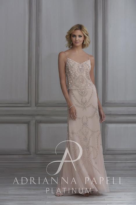 40112 Bridesmaids                                      dress by Adrianna Papell Platinum: Bridesmaids