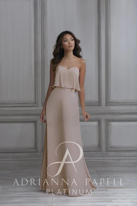 40113 Bridesmaids                                      dress by Adrianna Papell Platinum: Bridesmaids