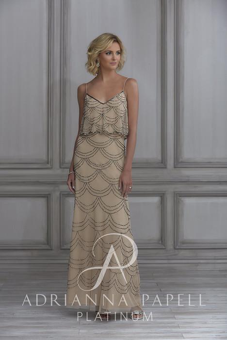 40114 Bridesmaids dress by Adrianna Papell Platinum: Bridesmaids