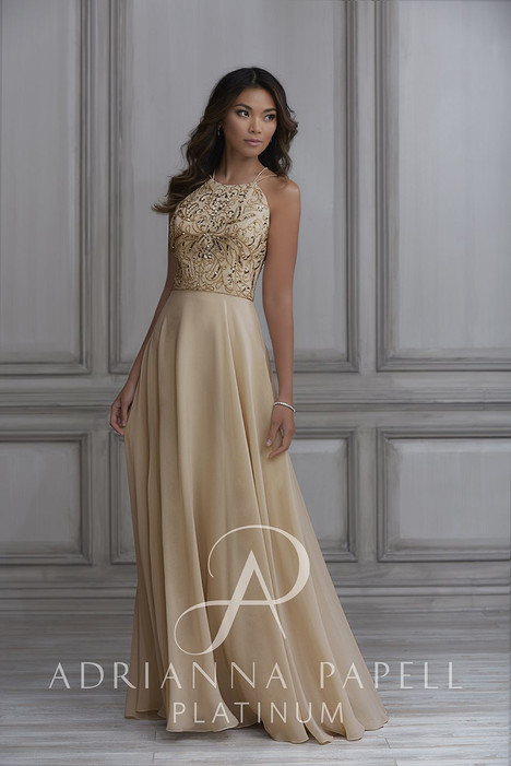 40115 Bridesmaids                                      dress by Adrianna Papell Platinum : Bridesmaids