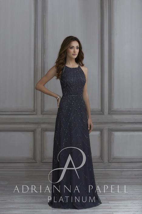 40117 Bridesmaids                                      dress by Adrianna Papell Platinum : Bridesmaids