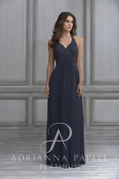 40118 Bridesmaids                                      dress by Adrianna Papell Platinum : Bridesmaids