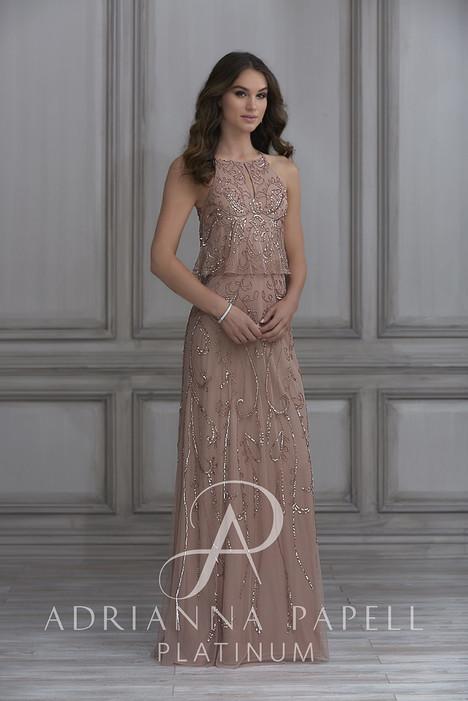 40119 Bridesmaids                                      dress by Adrianna Papell Platinum : Bridesmaids