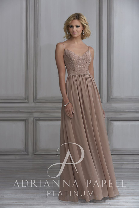 40120 Bridesmaids dress by Adrianna Papell Platinum: Bridesmaids