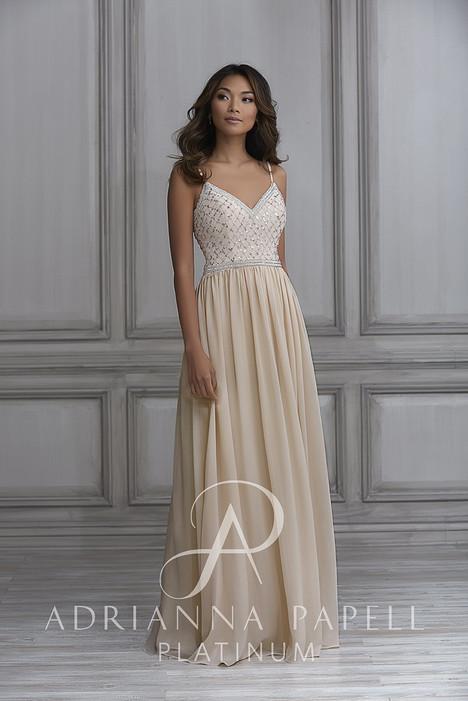 40122 Bridesmaids                                      dress by Adrianna Papell Platinum: Bridesmaids