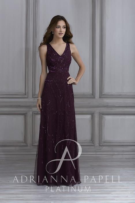 40123 Bridesmaids                                      dress by Adrianna Papell Platinum : Bridesmaids