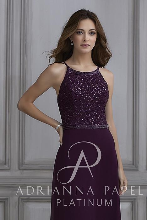 40124 Bridesmaids                                      dress by Adrianna Papell Platinum : Bridesmaids