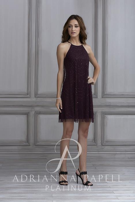 40125 Bridesmaids                                      dress by Adrianna Papell Platinum : Bridesmaids