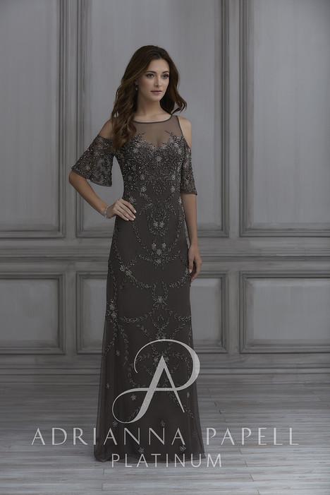 40126 Bridesmaids                                      dress by Adrianna Papell Platinum : Bridesmaids