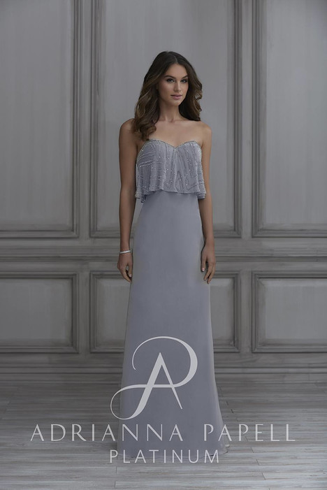 40127 Bridesmaids                                      dress by Adrianna Papell Platinum : Bridesmaids