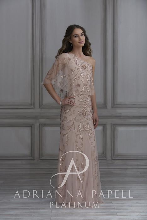40128 Bridesmaids                                      dress by Adrianna Papell Platinum : Bridesmaids