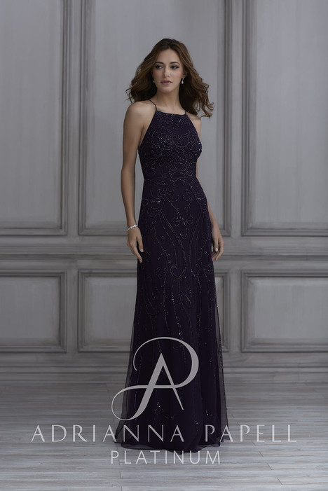 40132 Bridesmaids                                      dress by Adrianna Papell Platinum : Bridesmaids