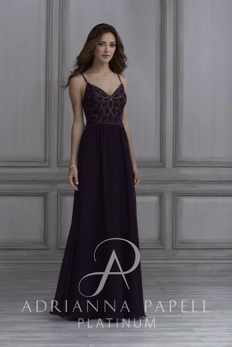 40133 Bridesmaids                                      dress by Adrianna Papell Platinum : Bridesmaids