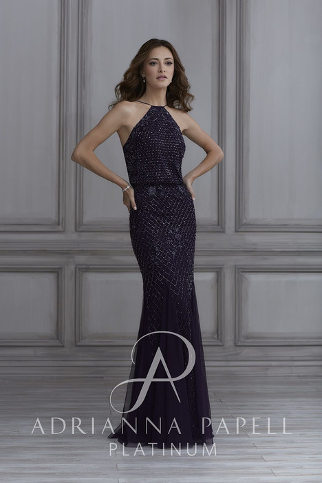 40134 Bridesmaids                                      dress by Adrianna Papell Platinum : Bridesmaids