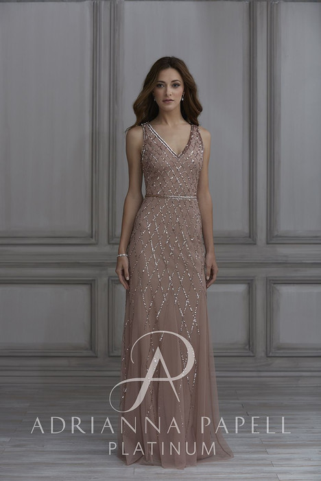 40135 Bridesmaids dress by Adrianna Papell Platinum: Bridesmaids