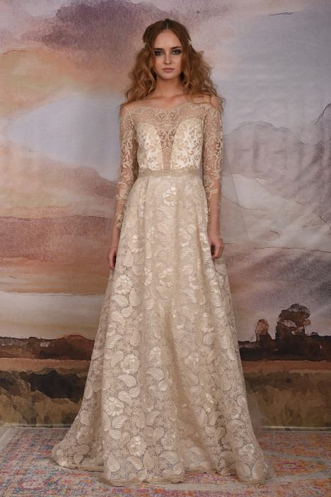Voyage Wedding                                          dress by Claire Pettibone: Couture