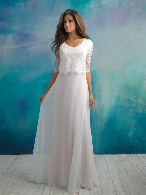 M591F Wedding                                          dress by Allure Bridals: Allure Modest