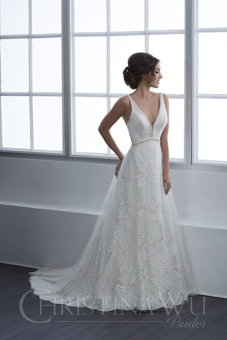 15647 Wedding                                          dress by Christina Wu