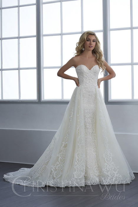 15649 Wedding                                          dress by Christina Wu