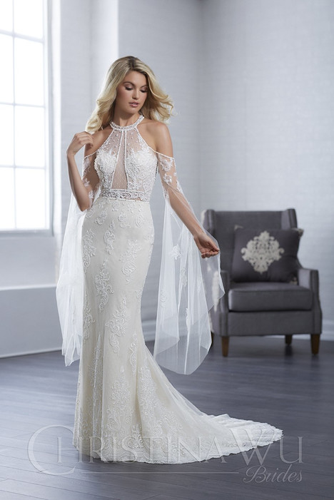 15650 Wedding                                          dress by Christina Wu