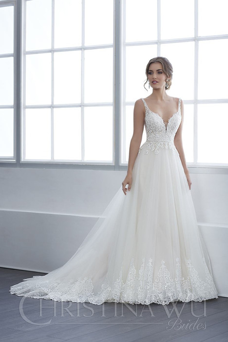 15651 Wedding                                          dress by Christina Wu