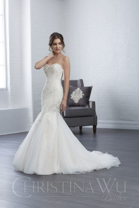 15652 Wedding                                          dress by Christina Wu
