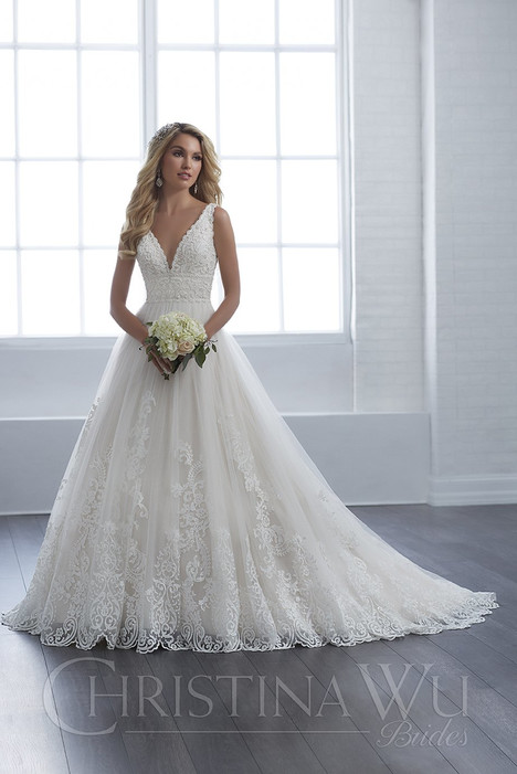 15653 Wedding                                          dress by Christina Wu