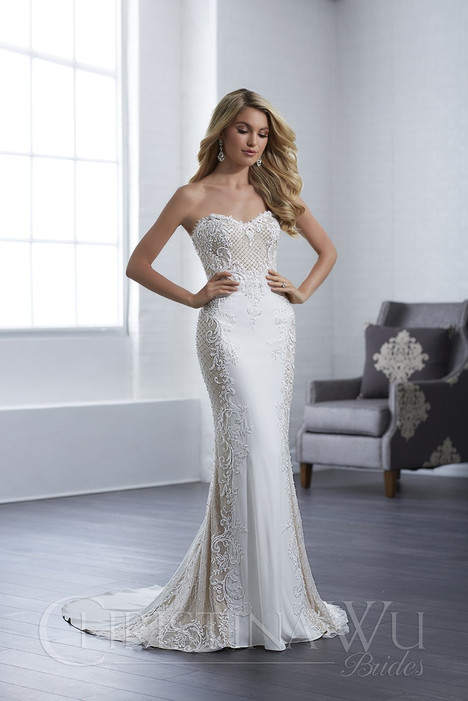 15654 Wedding                                          dress by Christina Wu