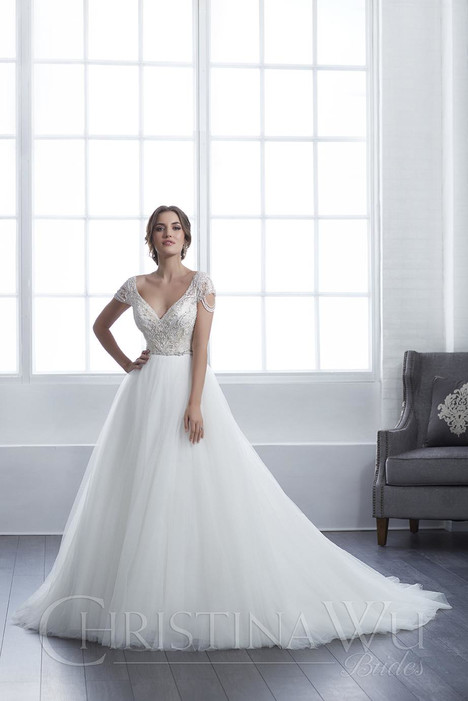15655 Wedding                                          dress by Christina Wu