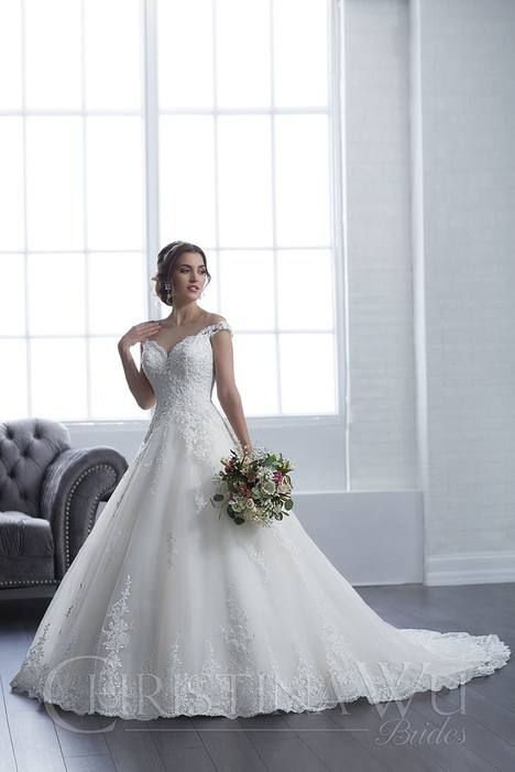 15657 Wedding                                          dress by Christina Wu