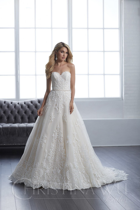15659 Wedding                                          dress by Christina Wu