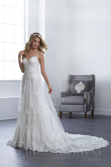 15660 Wedding                                          dress by Christina Wu