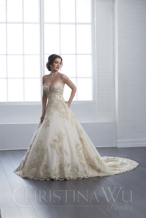 15661 Wedding                                          dress by Christina Wu