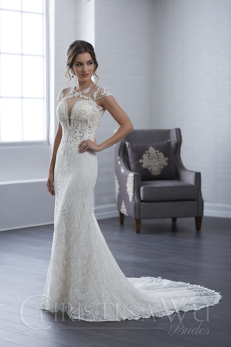 15663 Wedding                                          dress by Christina Wu