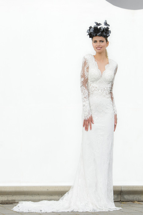 Marine Wedding                                          dress by Yaniv Persy Bridal Couture