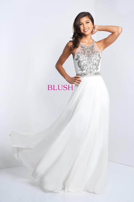 C1036 Prom                                             dress by Blush Prom