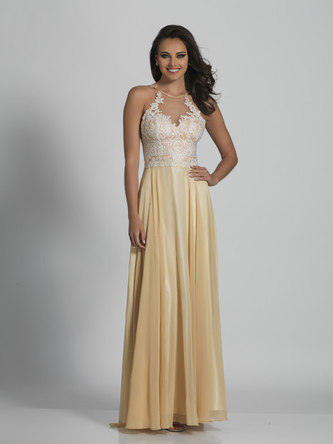 3123 (Ivory) Prom                                             dress by Dave & Johnny : Special Occasions