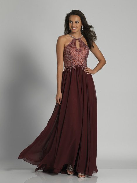 3250 (Burgundy) gown from the 2018 Dave & Johnny Special Occasions collection, as seen on dressfinder.ca