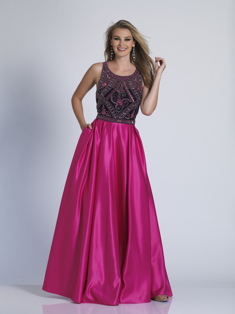 3355 gown from the 2018 Dave & Johnny Special Occasions collection, as seen on dressfinder.ca