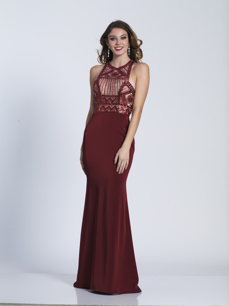 3443 gown from the 2018 Dave & Johnny Special Occasions collection, as seen on dressfinder.ca