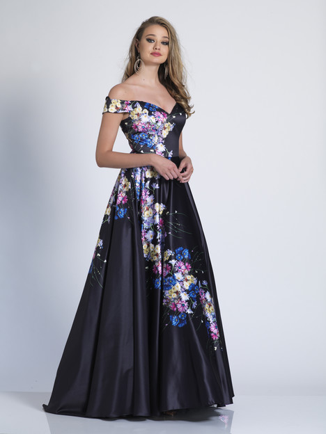 3455 gown from the 2018 Dave & Johnny Special Occasions collection, as seen on dressfinder.ca