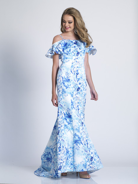 3458 Prom dress by Dave & Johnny Special Occasions