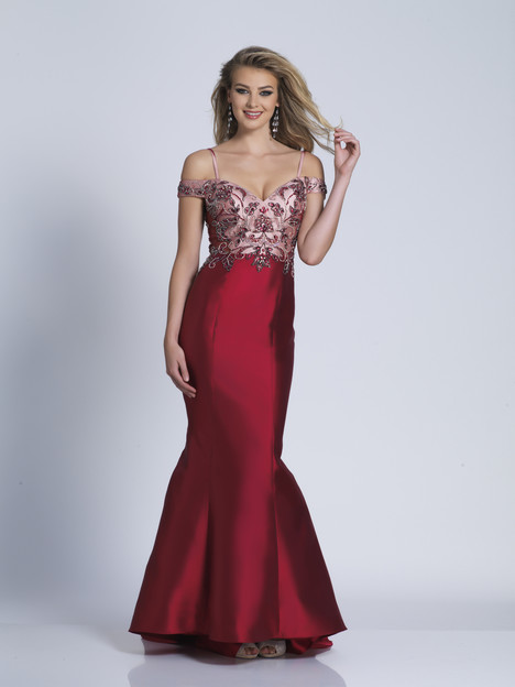 3494 gown from the 2018 Dave & Johnny Special Occasions collection, as seen on dressfinder.ca