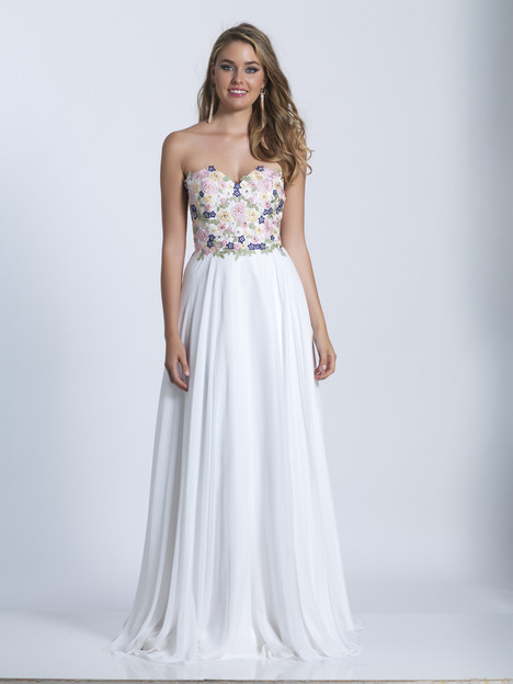 3562 gown from the 2018 Dave & Johnny Special Occasions collection, as seen on dressfinder.ca