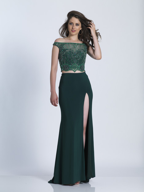 3575 gown from the 2018 Dave & Johnny Special Occasions collection, as seen on dressfinder.ca